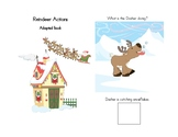 Reindeer Actions with bonus Reindeer counting and rhyming story