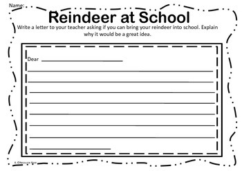 Reindeer Activities- Create your own Pet Reindeer!