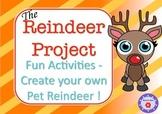 Reindeer Activities- Create your own Pet Reindeer!