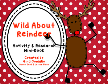 Reindeer Activity and Research Mini-Book