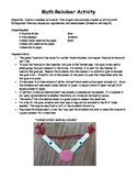 Reindeer Activity with Pythagorean Theorem, Sequences and