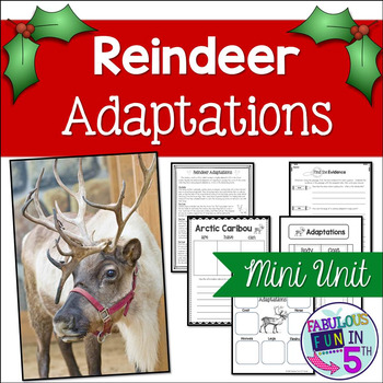 Reindeer Adaptations Mini-Unit