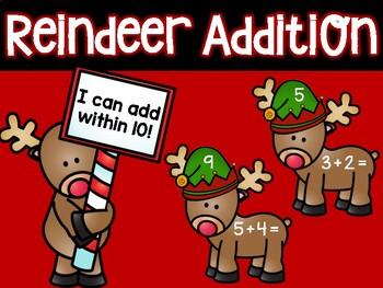 Reindeer Addition