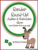 Reindeer Addition & Subtraction Game