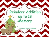 Reindeer Addition up to 18 Memory