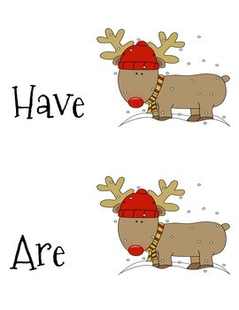 Reindeer Adjective Review