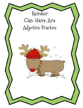 Reindeer Adjective Review