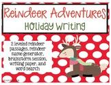 Reindeer Adventures Writing Activity