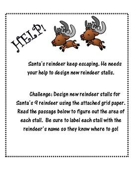 Reindeer Area Activity