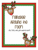 Around the Room - ch, tch, wh, ph (Reindeer)