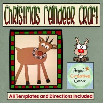 Reindeer Art Project