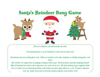 Reindeer Bang Game
