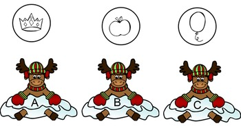 Reindeer Beginning Sounds Smartboard
