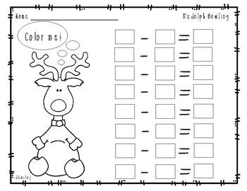 Reindeer Bowling