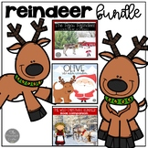 Reindeer Bundle Book Companions and Non Fiction Reindeer Unit