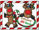 Reindeer CVC word center