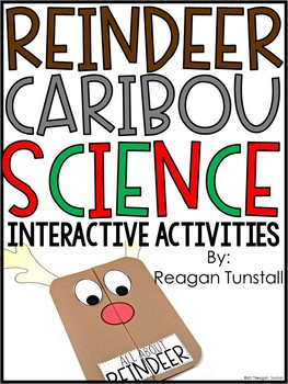 Reindeer Caribou Science Interactive Activities