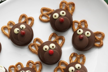 Reindeer Christmas Activity Biscuits By Dallas Ale Tpt