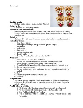Reindeer Christmas Cookies