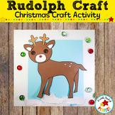 Reindeer Christmas Craft Activity