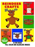 6 REINDEERS CRAFTS | CHRISTMAS CRAFTS FOR KIDS