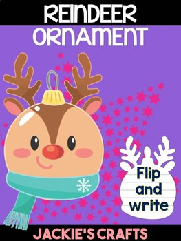Reindeer Christmas Ornament - Jackie's Crafts, Winter Activities, Writing