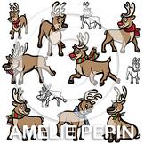 Reindeer Clip Art (22 images)