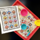 Reindeer Color Match Folder Game for Early Childhood Speci