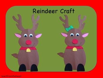 Reindeer Craft (A Christmas Craft)