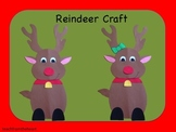 Reindeer Craft (A Christmas Craft)