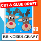 Reindeer Craft - Christmas Craftivity