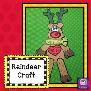Reindeer Craft: Christmas Crafts