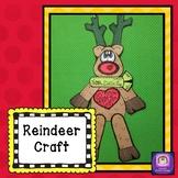 Reindeer Craft, Christmas Craft, December