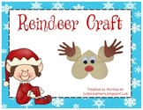 Christmas Reindeer Craft: Low Prep