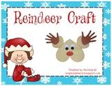 Christmas Reindeer Craft: Low Prep