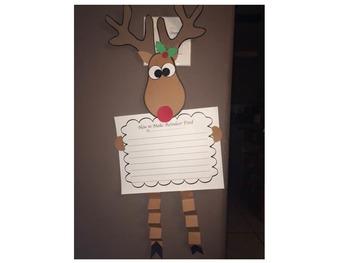 Reindeer Craft and Activity
