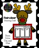 Reindeer Craft and Drawing Activity for Kindergarten Science at Christmas
