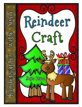 Reindeer Craft with Tree Map