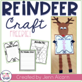 Reindeer Craft Activities for Speech Therapy {FREEBIE!}