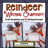 Reindeer Craftivity --- Reindeer Craft and Writing Project
