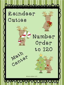 Christmas Number Order to 120 (Least to Greatest and Great