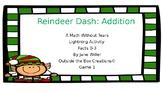 Reindeer Dash: Addition (Facts 0-3) Game 1