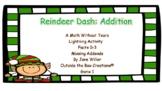 Reindeer Dash: Addition (Facts 0-3  Missing Addends) Game 1 PDF Version