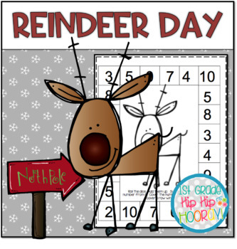 Reindeer Day!  Craft and Activities