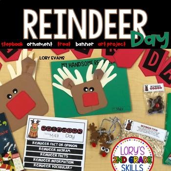 Reindeer Day Activities and Stepbook