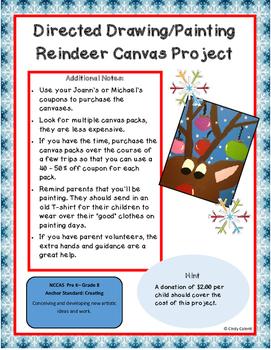 Reindeer: Directed Art Project