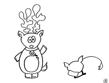 Reindeer Directed Draw