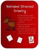 Reindeer Directed Drawing