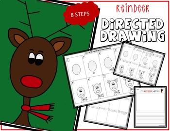 Christmas REINDEER Drawing Bundle