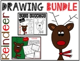 Christmas REINDEER Drawing Bundle